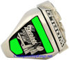 "Picture of 2003 New England Patriots ""Super Bowl XXXVIII"" Champions 14K White Gold, with Diamonds, Player's Ring"