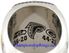 "Picture of 2016 Atlanta Falcons ""N.F.C."" Champions 10K White Gold, with Diamonds, Player's Ring and Original Presentation Box"