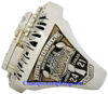 "Picture of 2004 New England Patriots ""Super Bowl XXXIX"" Champions 14K White Gold, with Diamonds, Player's Ring"