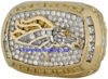 "Picture of 1997 Denver Broncos ""Super Bowl XXXII"" Champions 14K Gold, with Diamonds, Player's Ring"