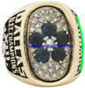 "Picture of 1978 Dallas Cowboys ""N.F.C."" Champions 10K Gold, with Diamonds and Sapphires, Player's Ring"