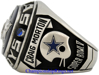 """Picture of 1970 Dallas Cowboys """"N.F.C."""" Champions 10K White Gold Gold, with Diamonds, Player's Ring"""