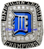 "Picture of 2006 Detroit Tigers ""American League"" Champions 14K White Gold, with Diamonds, Staff Member's Ring and Original Presentation Box"